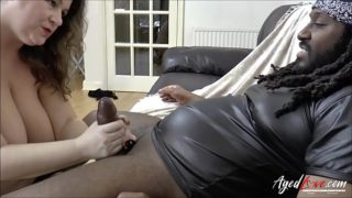AgedLovE Mature Enjoying BBC in Mouth and Pussy