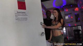 Aidra Fox Gets Creampied By Black Cocks – Gloryhole