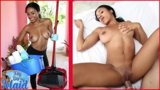 BANGBROS – Hot Black Maid With Big Tits Anya Ivy Is A Tough Nut To Crack