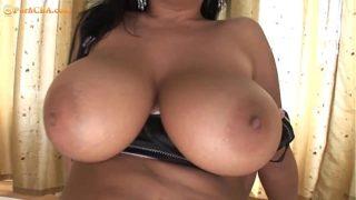 Big natural tits double fuck