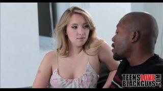 Blonde Teen Loves Black Guys – TeensLoveBlackGuys.com