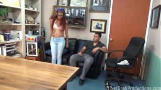 Dayanara Taylor brings her man to PORN audition GlassDeskProductions