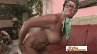 Hot granny is always in the mood for a hardcore fuck