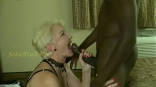 Interracial Loving Seka Plays With Her MILF Fucking Machine