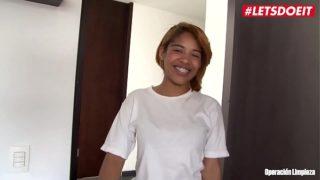 LETSDOEIT – Ebony Latina Maid Rides a BBC at Work
