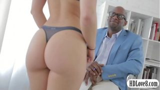 Sultry Remy Lacroix anal interracial sex by big black cockcial sex