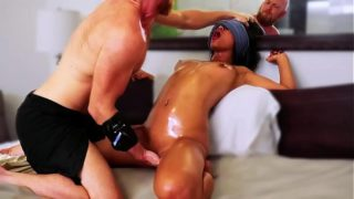 this massage is WRONG (asian FORCED to SQUIRT!) Real amateur Filipina used HARD!