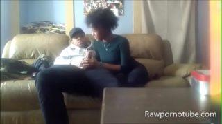 Amateur Black Blowjob With Oral Creampie