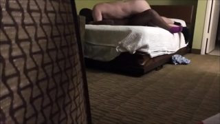 Chubby Black MILF Fucked by a White Dude