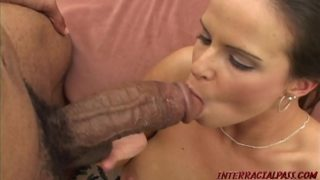 College girl creams on monster black cock