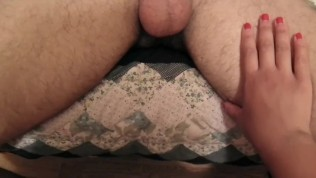 MissFluo – Soflty Tease a cock very Erotic and Exciting
