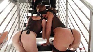 Rich Pussy Punishment- Aubrey Black & Ana Rose