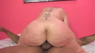 Sara Jay's mature pussy filled with a black cock