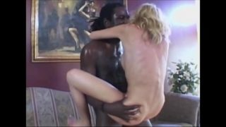 She wants this big black cock. Slippery blow job up to the sto