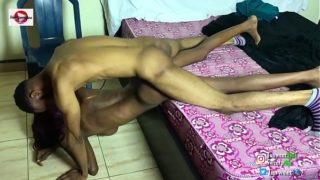 Tusweet fucked and choked the African Anal girl with big tits
