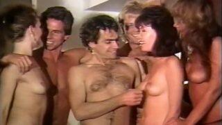 Heather Wayne, Peter North And Kristara Barrington In Retro Usa 686 80s