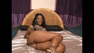 Black whore Beauty Dior got her pussy slammed and then horny man has chucked his muck