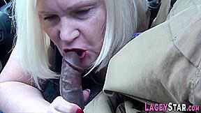 Lard Bum Granny Had Intercourse Hard