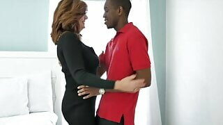 Mature woman brings home a man she met at car show