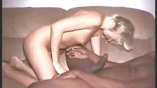 Wife fucks a huge black dick