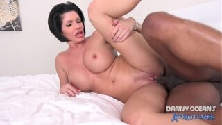 DOCEAN Big Tit MILF Shay Fox Rims Ass and Creampied by Black Dick