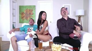 Sister Knows How To Distract Brother- Vienna Black